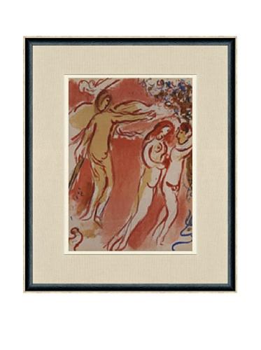 Marc Chagall, Adam Et Eve Chasses Du Paradis Terrestre