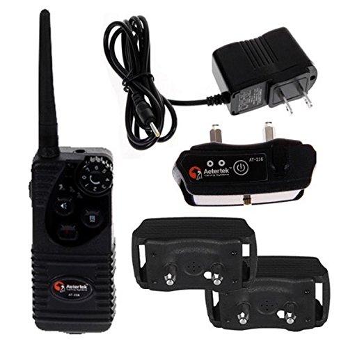 New Shop Water Resistant Adjustable Electric Shock Vibra Remote Pet Dog Training Collar