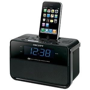 51siYypMwUL. SL500 AA300  Scott i CSX 15 Radiowecker für iPod und iPhone für 24,99€