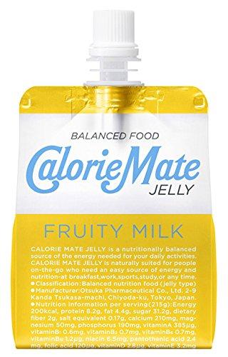 大塚製薬 カロリーメイト ゼリー フルーティ ミルク味 215g×24袋