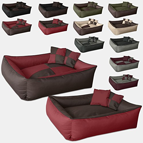 beddog-2in1-max-quattro-marrone-rosso-xxxl-150x110-cm-letto-per-cane-l-fino-a-xxxl-6-colori-a-scelta