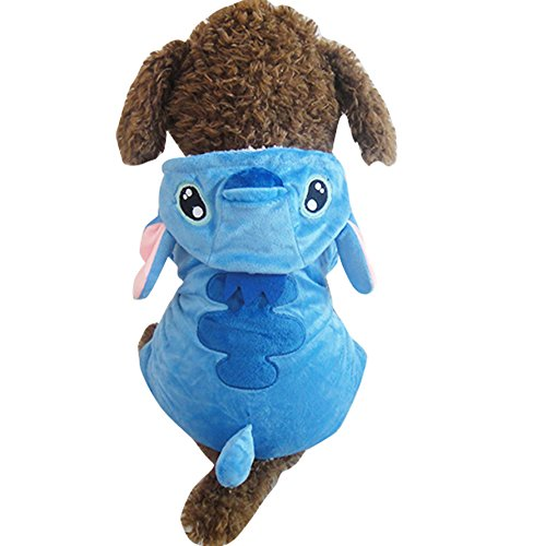 [Bonawen Dragon Dog Halloween Costumes with Ears for Chihuahua,Poodle,Maltese,Bulldog etc.] (Toothless Dragon Cat Costume)