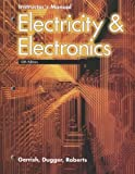 img - for Electricity & Electronics, Instructor's Manual book / textbook / text book