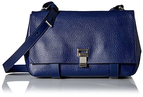 Proenza-Schouler-Womens-Borsa-Ps-Courier-Bag-New-Navy