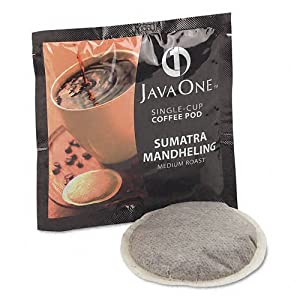 Distant Lands Coffee Products - Distant Lands Coffee - Coffee Pods, Sumatra Mandheling, Single Cup, 14/Box - Sold As 1 Box - A collection of fine coffee. - Richly satisfying flavor. - Premeasured pods for single cup brewers.