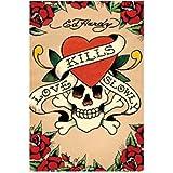 Ed Hardy - Love Kills Slowly - Maxi Poster - 61cm x 91.5cm