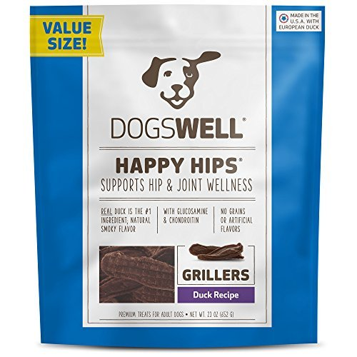 Dogswell Happy Hips Grillers Duck Recipe 23 Oz by Dogswell (Dogswell Duck Grillers compare prices)
