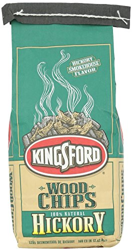 Kingsford Hickory Wood Chips, 160 Cubic inch -- 12 per case.