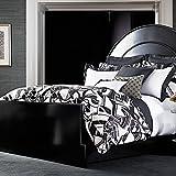 Ralph Lauren Ellington Black & White Deco FULL/QUEEN Duvet Cover