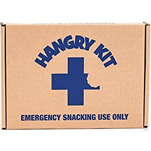 Hangry Kit Sweet Snack Sampler - Care Package - Gift Pack - Variety of 20 Cookies, Crackers & Fruit Snacks Included - 100% Money Back Guarantee