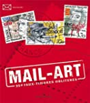 MAIL-ART, 350 FAUX TIMBRES OBLITERES
