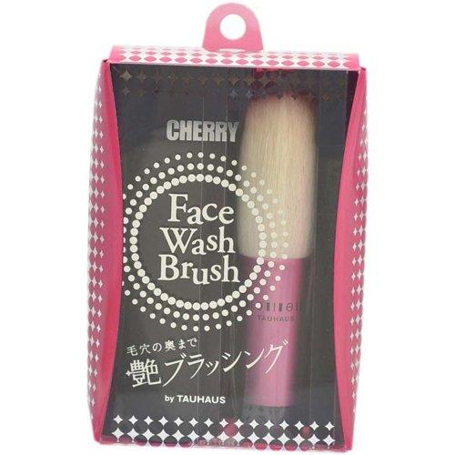 PーFWー01ーPK CHERRY 洗顔ブラシ