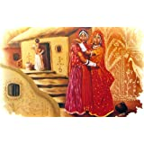 "Dolls Of India ""Rajasthani Belles"" Reprint On Paper - Unframed (45.72 X 29.84 Centimeters)"