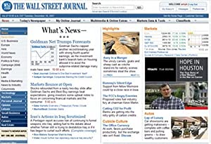The Wall Street Journal Online: One-Year Online Subscription