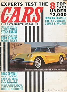 Cars Magazine Poster 26x36in #A 1959 corvette