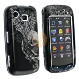 Clip-on Case for Samsung Impression A877, Skull Wing ~ eForCity