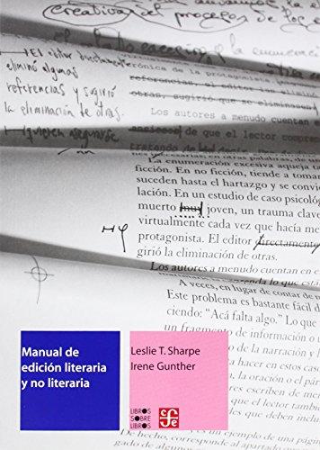 MANUAL DE EDICION LITERARIA Y NO LITERARIA