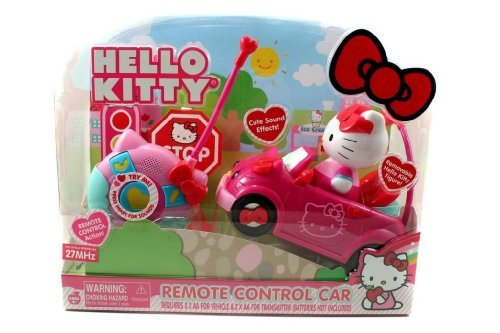 Toy / Game Jada Toys Hello Kitty Rc With Cute Sound Effects - Give Your Child Hours Of Drivin' Fun Play