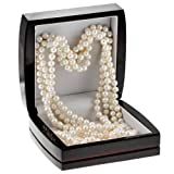 White Freshwater Cultured Pearl Endless Necklace (7-8mm), 100""