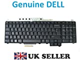 Genuine Original Dell Vostro 1700 , Inspiron 1720 , Inspiron 1721 , XPS M1730 UK Laptop Notebook Keyboard , QWERTY UK Layout , Dell P/N : JM453 ,
