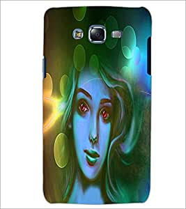 PrintDhaba Beautiful Girl D-3485 Back Case Cover for SAMSUNG GALAXY ON 7 (Multi-Coloured)