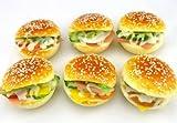 Treasure Mart  食べないで下さい!どこから見ても本物みたい ハンバーガー型リストレスト キーボードクッション