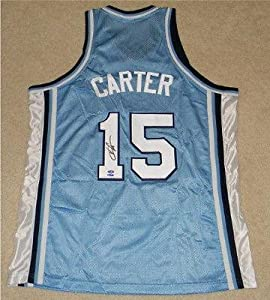Signed Vince Carter Jersey - Unc North Carolina Tar Heels #15 Coa - Autographed... by Sports+Memorabilia