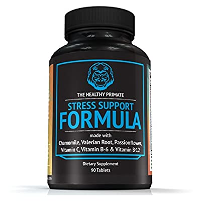 #1 Leading Natural Anxiety Relief Supplement I Physician Formulated To Reduce Anxiety & Stress I Increase Focus I Optimal Blend of Chamomile, Valerian Root, Biotin & Vitamins I Non GMO & Gluten Free