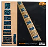 Fretboard Markers Inlay Sticker Decals for Guitar & Bass - LP SG Blocks- AB