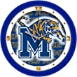 Memphis Tigers NCAA Dimension Wall Clock