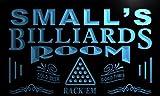 Pj1556-b Small's Billiards Room Rack 'em Bar Beer Neon Light Sign