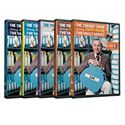 The Tonight Show Vault Series Collection Volume 1-5 starring Johnny Carson