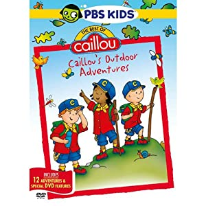 Best of Caillou: Caillou's Outdoor Adventures [Import]