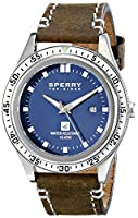 Sperry Top-Sider Men's 10009018 Navigator Analog Display Japanese Quartz Brown Watch by Sperry Top-Sider Watches MFG Code