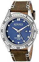 Sperry Top-Sider Men's 10009018 Navigator Analog Display Japanese Quartz Brown Watch by Sperry Top-Sider Watches MFG Code