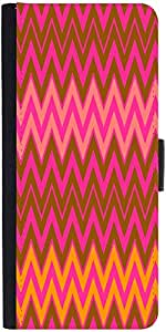 Snoogg Wave Patternsdesigner Protective Flip Case Cover For Xiaomi Redmi Note