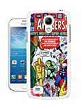 COVER FOR SAMSUNG S4 MINI i9190 MARVEL COMIC CASE & SCREEN PROTECTOR AVENGERS THOR HULK - WH-T105