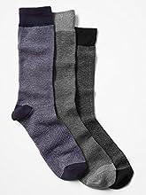 Gap Striped Knit Socks 3 Pack 10-13