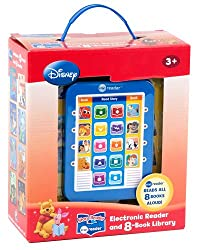 Disney Classics Electronic Reader and 8 Book Library