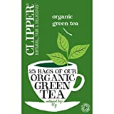 Clipper Organic Green Tea 25 Tea Bags 50g - CLIP-4640