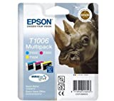 EPSON 3-Cartridge T1006 Multipack C13T10064010 (The 3-ink cartridge T1006 multipack by Epson provides you with impeccable, water-resistant prints every time! This multipack is compatible with Epson Stylus Office B40W, BX600FW and SX600FW printers... )