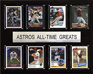 MLB Houston Astros All-Time Greats Plaque by C&I Collectables