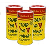 Slap Ya Mama Original Blend Seasoning, THREE 8-Ounce Canisters