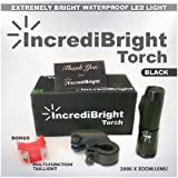 Brightest Bike Light on Amazon - Comes With FREE TAIL LIGHT(Limited Time) - Tools-Free Installation in Seconds