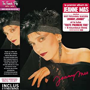 Jeanne Mas - Paper Sleeve - CD Vinyl Replica Deluxe + 5 Titres Bonus