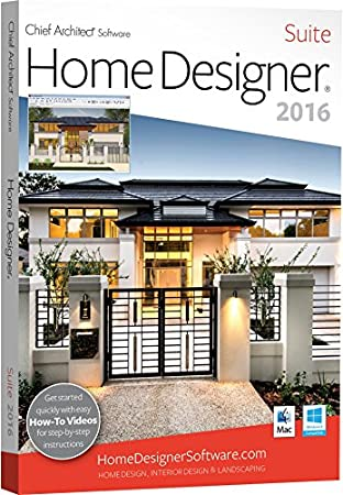 Chief Architect Home Designer Suite 2016