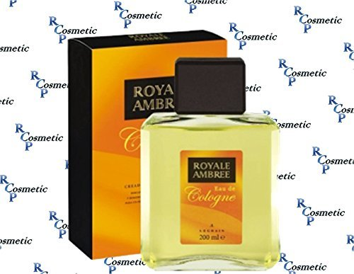 Royale Ambree by Legrain for Men 6.8 oz Eau de Cologne Pour by Royale Ambree