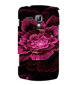 PrintVisa Pink Flower Design 3D Hard Polycarbonate Designer Back Case Cover for Samsung Galaxy S Duos S7562