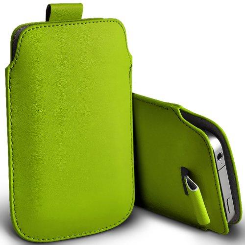 ( Green ) Samsung Rex 60 C3312R Schutzkunstleder Pull Tab stilvolle Einbau Beutel-Kasten-Abdeckung Haut durch Spyrox