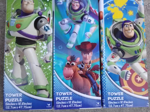 Disney Toy Story 50 Piece Tower Puzzle (Assorted, Designs Vary)
